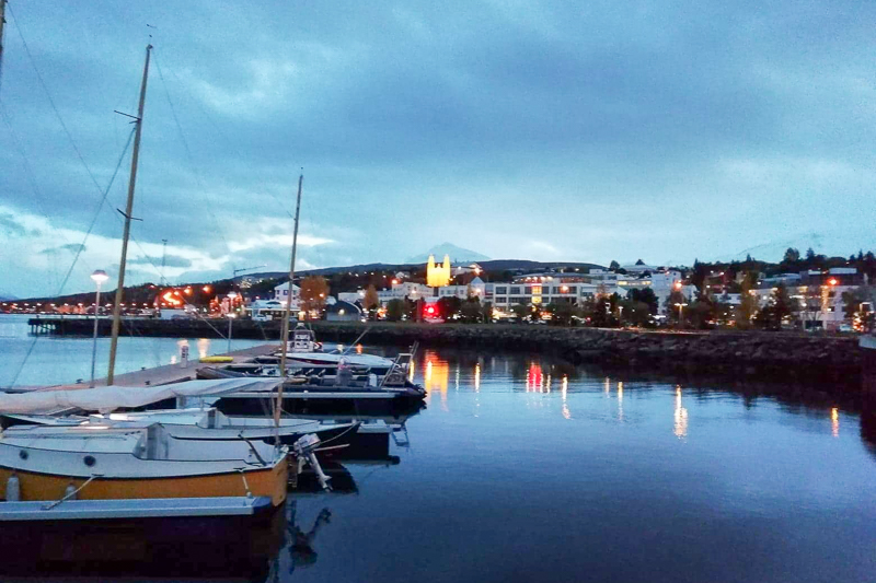 Akureyri at Night_2