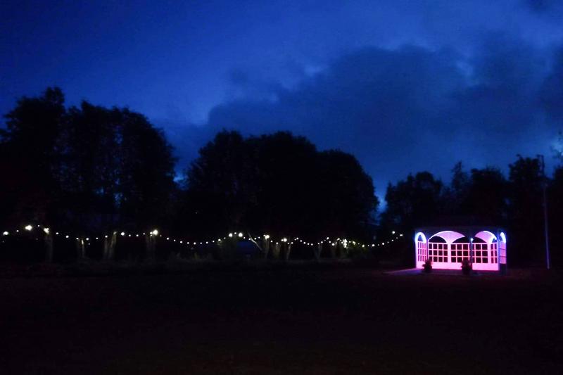 Botanic Garden at night_8
