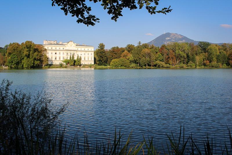 Foto: Schloss Leopoldskron herbstlich