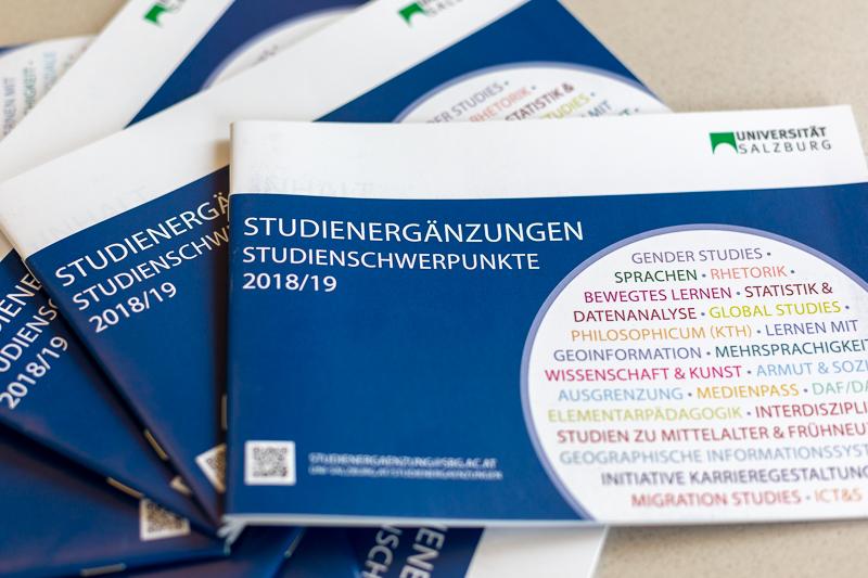 Broschüre Studienergänzungen