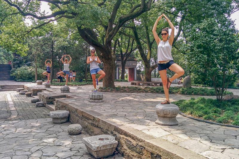 Teilnehmerinnen der China Know How Summer School