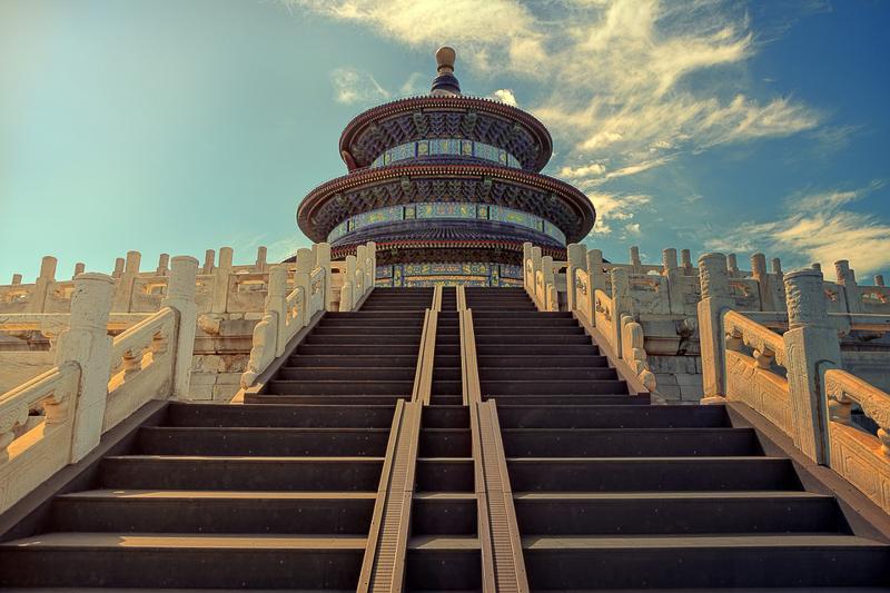 Der Tempel des Himmlischen Friedens Peking
