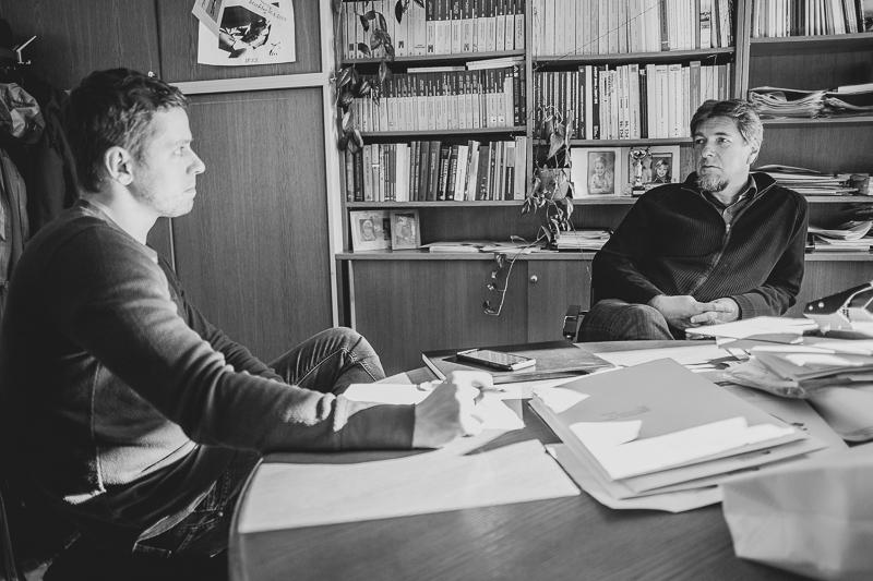 Interview mit Andreas Uhl seitliche Ansicht
