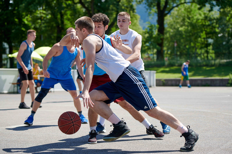 Streetball am USI Sportfest