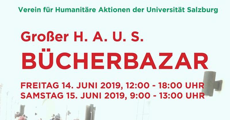 Events im Juni: Bücherbasar