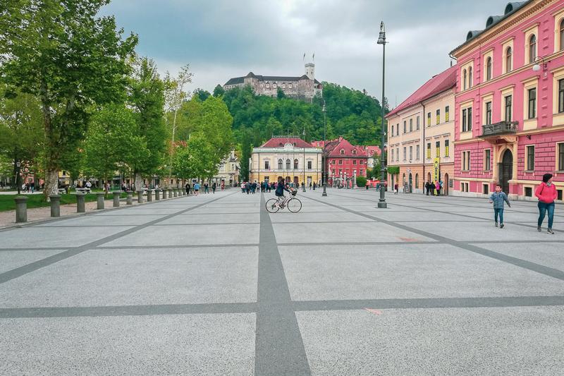 Ljubljana Kongressplatz
