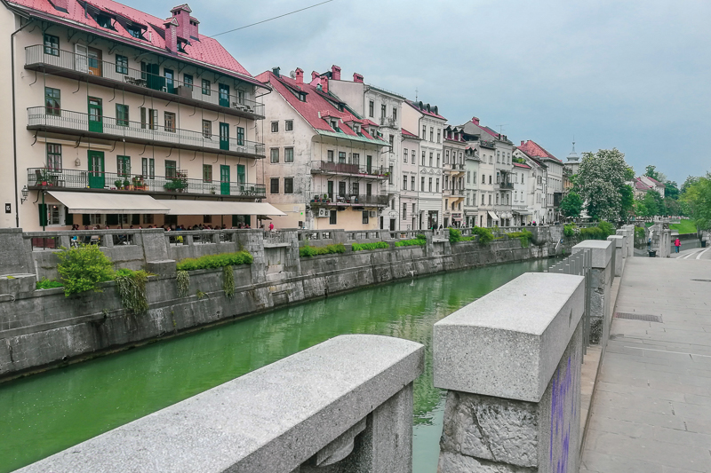 Ljubljana Altstadt Ljubljanica
