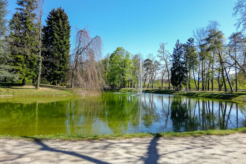 Volksgarten Salzburg Teich