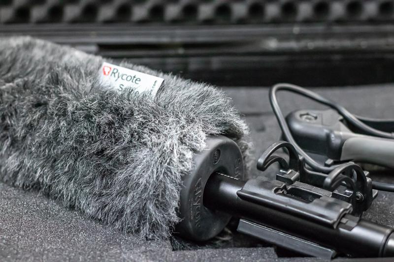Mikrofon des MedienLabors am FB Kommunikationswissenschaft