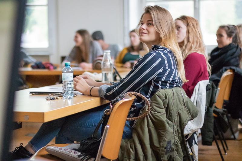 Schnappschuss aus einer Lehrveranstaltung für Master-Studierende der Kommunikationswissenschaft