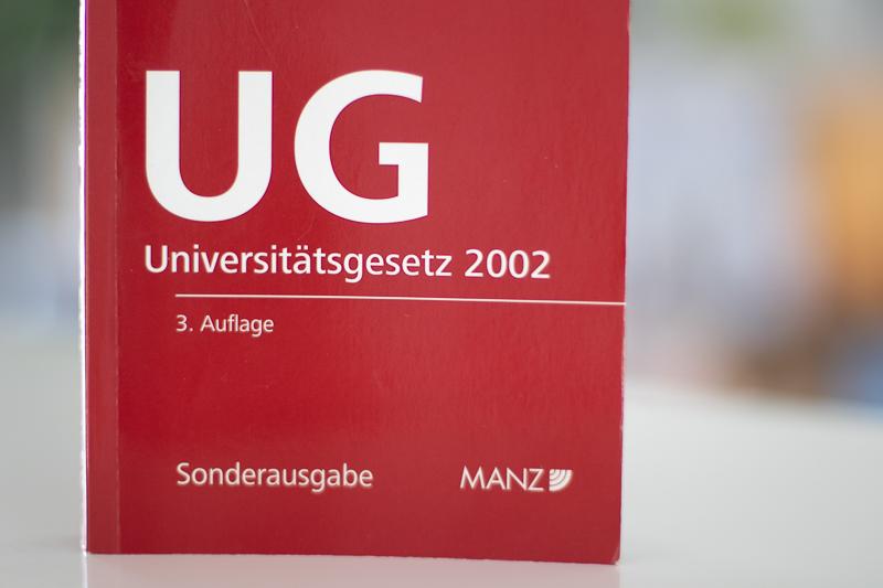 Studienrecht Universitätsgesetz