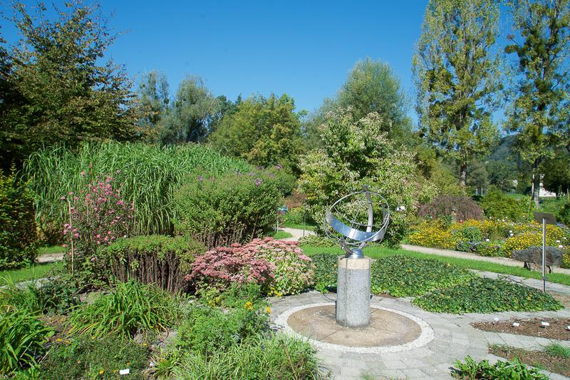 Besuch den Botanischen Garten der Uni Salzburg im Sommer!