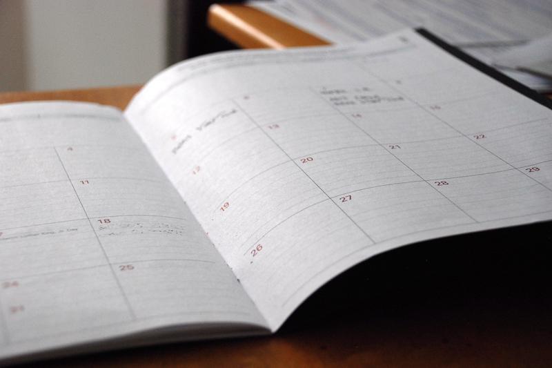 Studienrecht Terminplaner