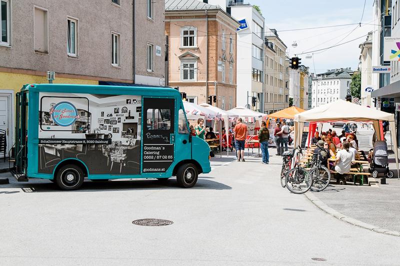 Sommer in Salzburg: Goodman's Diner Straßenfest