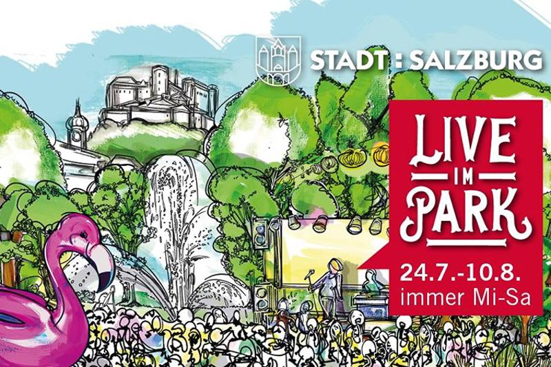 Sommer in Salzburg: Live im Park - Sujet