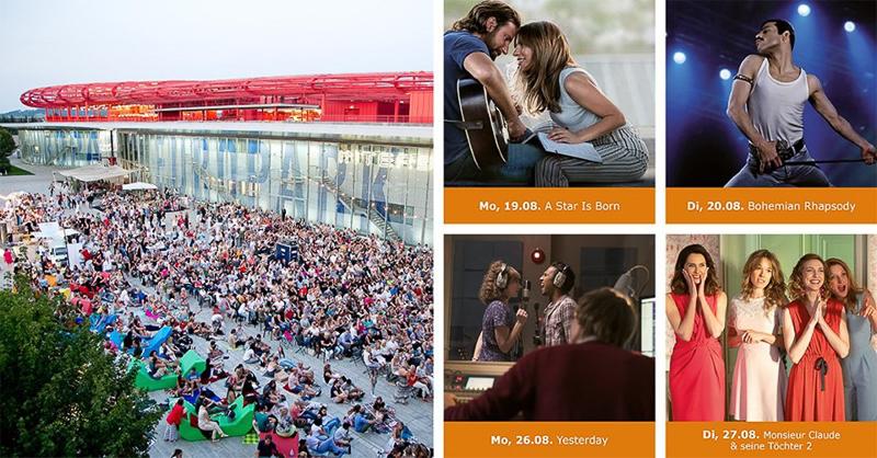 Sommer in Salzburg: Open-Air-Kino vorm Europark