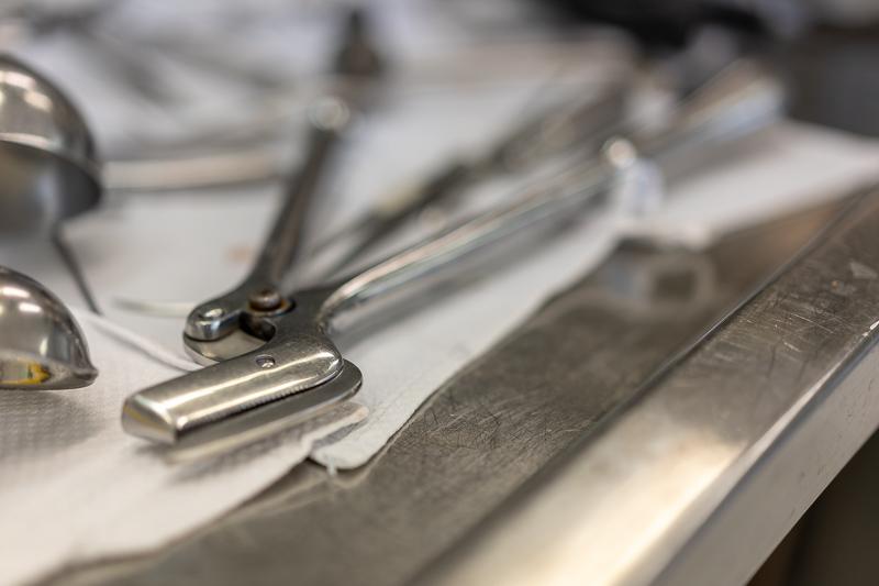 Gerichtsmedizin Instrumente