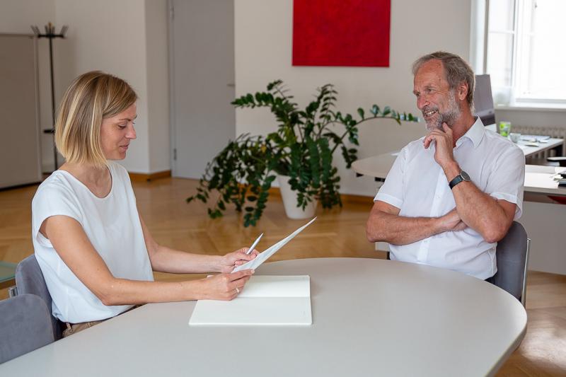 Dcotorate School PLUS Interview VR Erich Müller seitlich