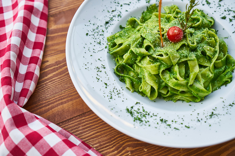 Do's and Dont's für die Italienreise: Pasta mit grünem Pesto