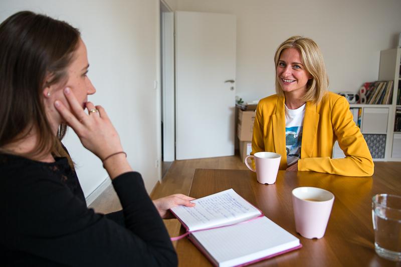 Interview Chefredakteurin Julia Hettegger und Fabienne