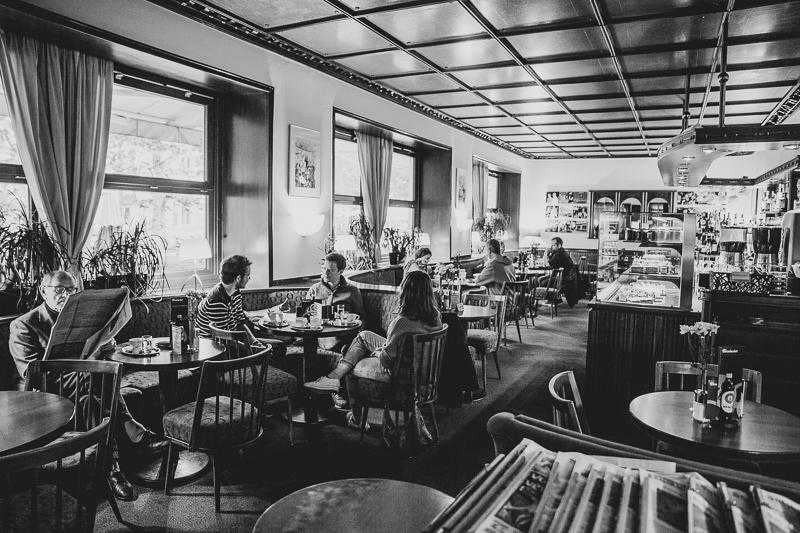 Interview mit Tobias Pötzelsberger im Café Wernbacher