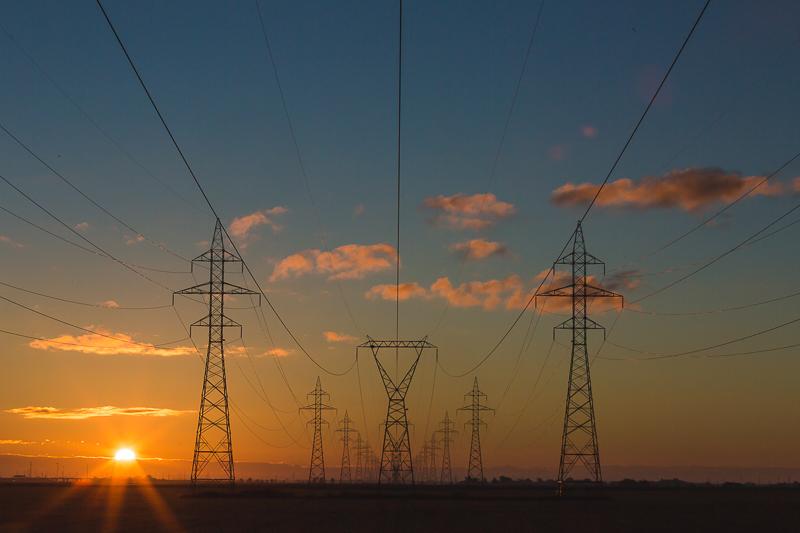 Stromverbrauch Hochspannungsmasten