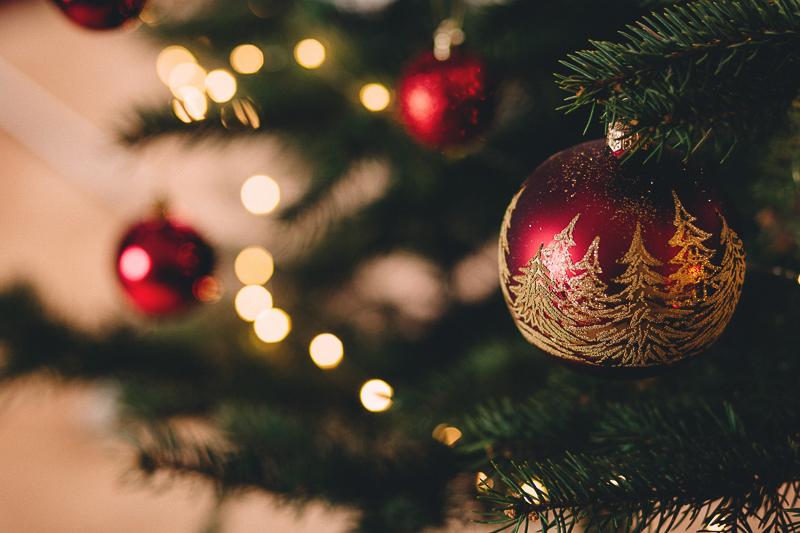 Weihnachtszeit Christbaum