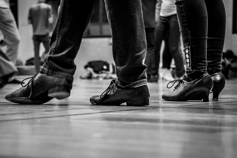 Tanzkurs. Tanzschuhe