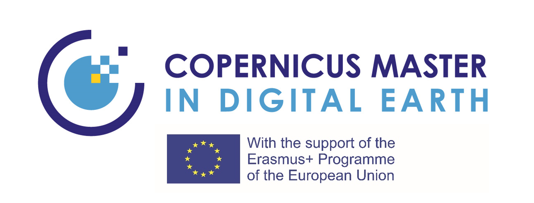 Logo Copernicus Master in Digital Earth