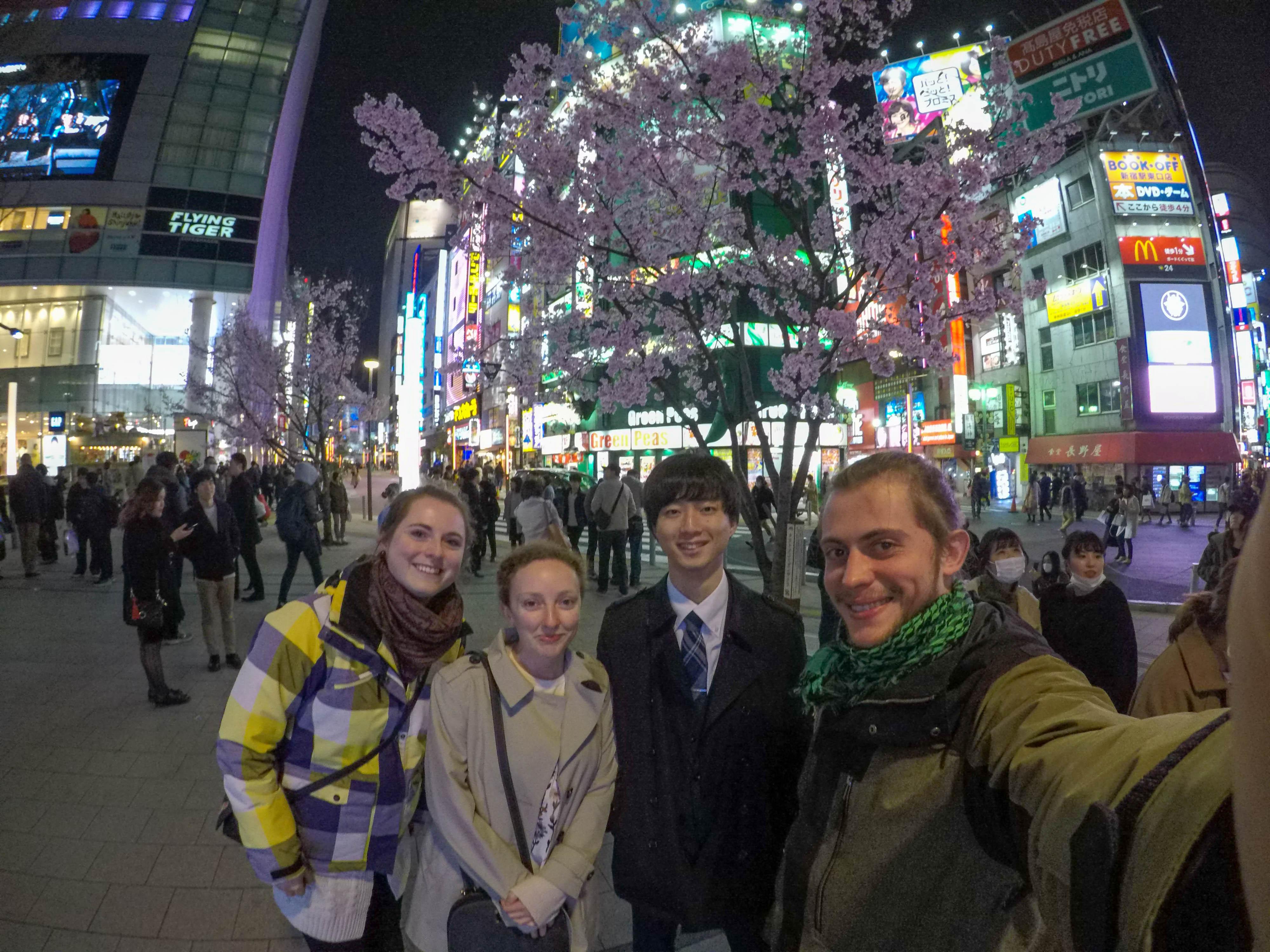 Gruppenbild in Tokyo