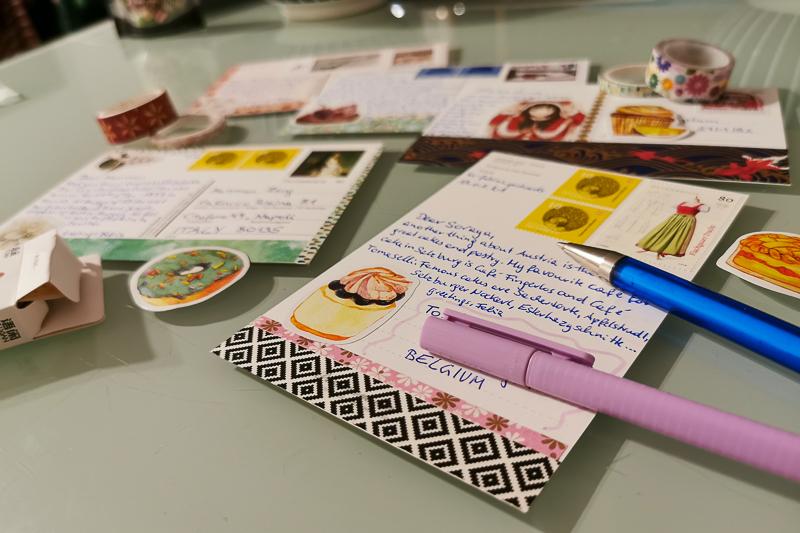 Postkarten kreativ gestalten