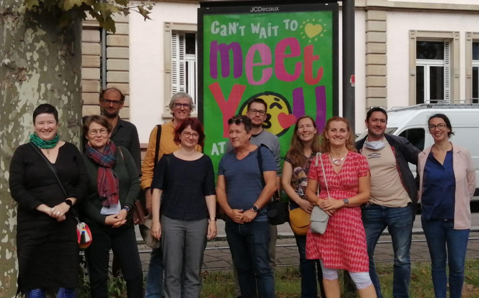 Projekttreffen in Straßburg